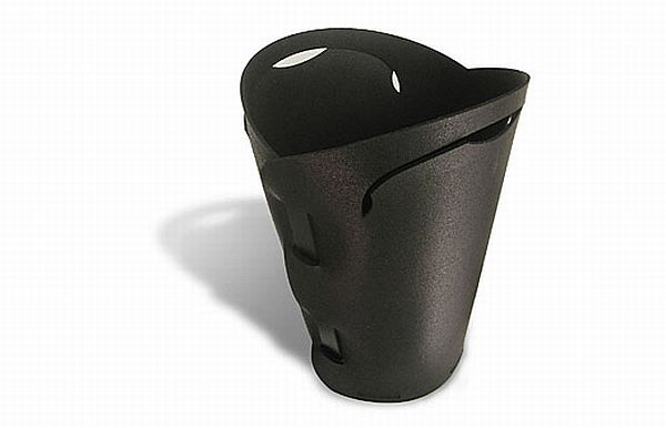 Recycled Rubber Waste Basket
