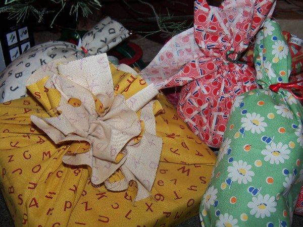 Reuse wrapping materials