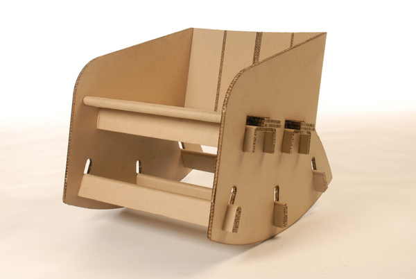 A Cardboard Chair Can Get You Rocking Green Diary Revolution Guide By Dr Prem