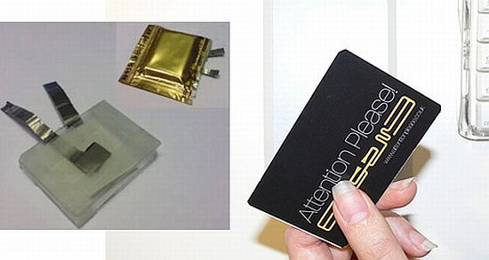 salt and paper battery
