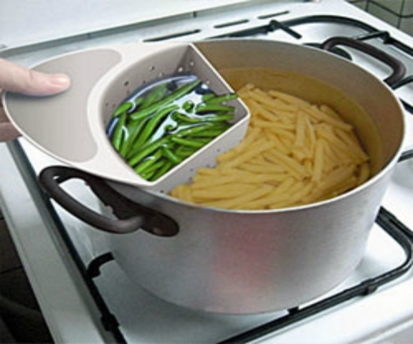 Save water while cooking