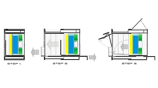 system design studio proposes self-sufficient compact house for