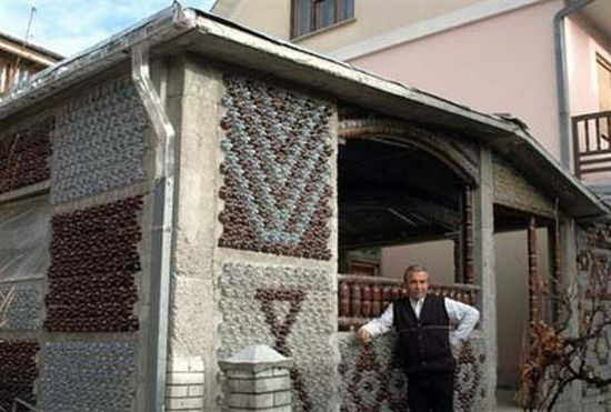 serbian house made from plastic bottles 2