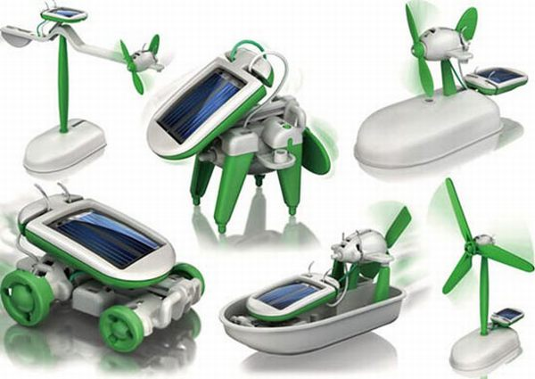 Seven solar powered toys for green kids