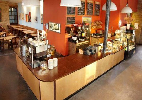 Cafe countertop
