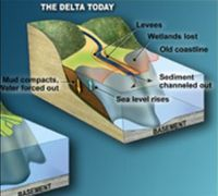 sinking louisiana coast in graphics2 9