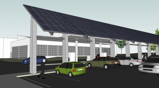 Ui To Build A Solar Charging Station Near Cambus Fueling