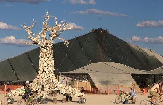 solar panel in desert 1