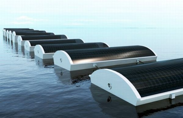 Mini Desalination Plant : Five solar powered water desalination systems green