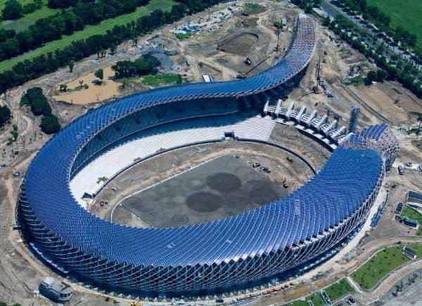 Solar Powered Stadium