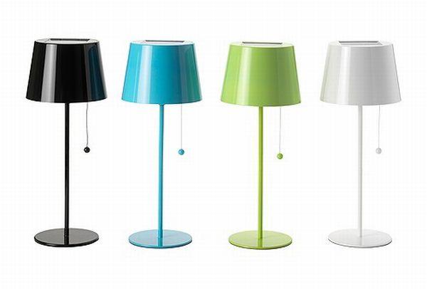 solvinden solar powered lamps