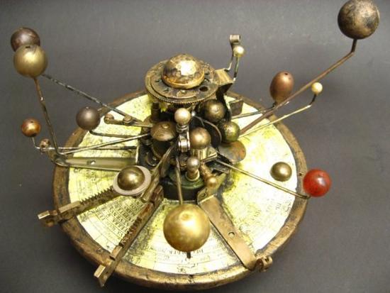brass solar system model - photo #1