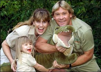 steve with his family