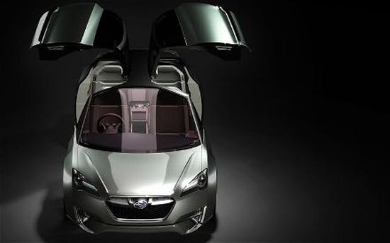 subaru hybrid tourer concept1