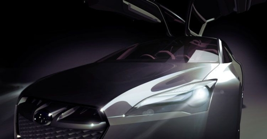 subaru hybrid tourer concept2