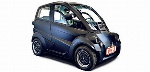 T25 car made from recycled plastic