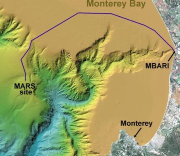 the monterey undersea canyon 9