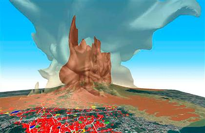 three dimensional simulation 1822