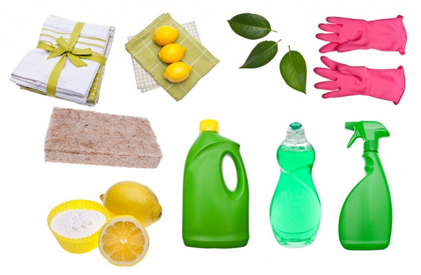 Use natural cleaning products