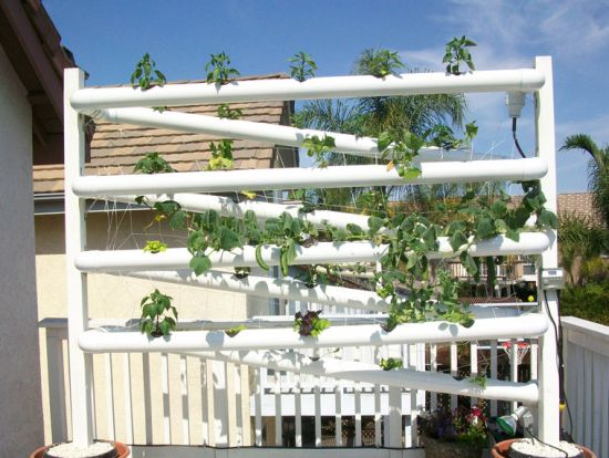 Vertical Earth Gardens' relies on hydroponics to add green to your ...