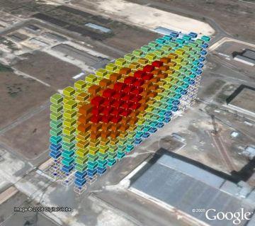 visualization in google earth 9