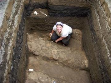volcano preserved early mayan manioc field