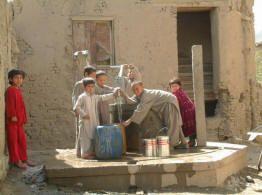 water supply sanitation is poor in afghanistan