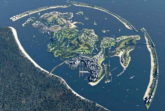 World Shaped Federation Island By Erick Van Egeraa