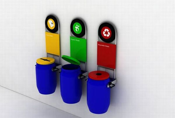 10 Creative Bins Designed To Promote Recycling Green