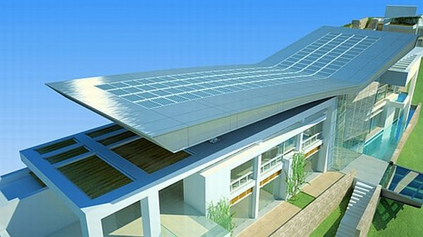 10 Solar Powered Green Architecture Designs Green Diary