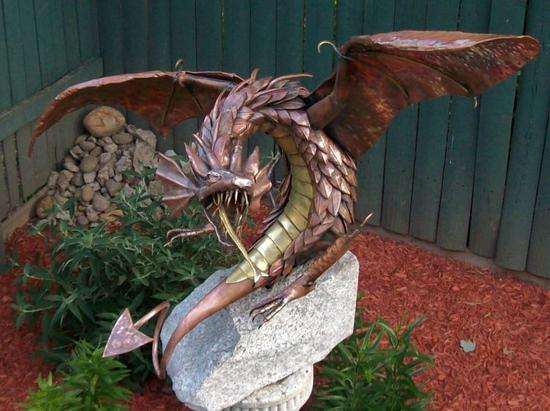 Recycled Metal Sculptures From Rusty Metal To Meticulous