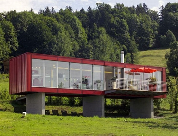 Homes Built Out Of Shipping Containers 15 green homes made from shipping containers - green diary - green