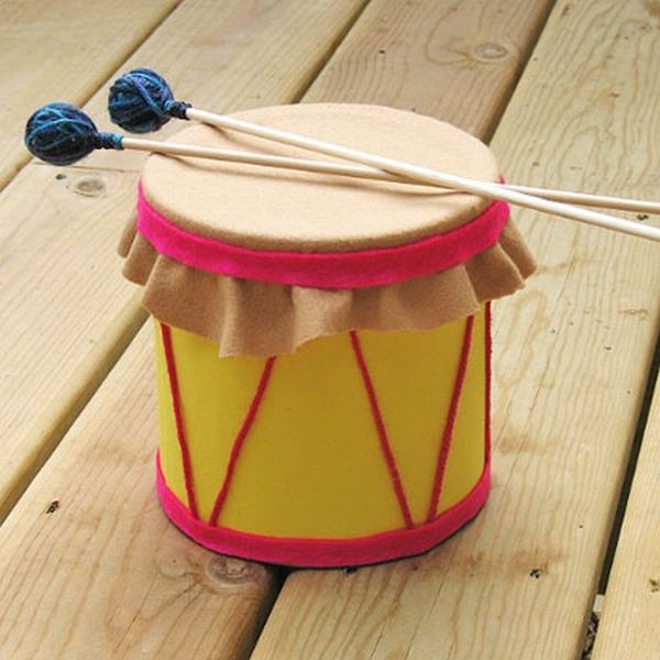 Coffee Can Drum Craft