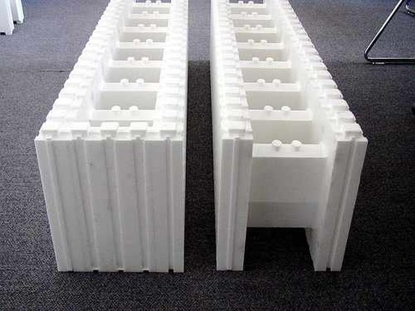 New building materials creating a buzz in the construction Insulated block construction