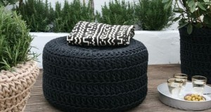 Recycle old tires into beautiful household products