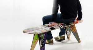 Unique Items Made Using Recycling Skateboards